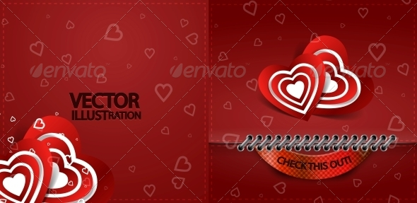 GraphicRiver Valentine s Day Card 4097863