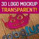 3D & Transparent Logo Mockups - GraphicRiver Item for Sale
