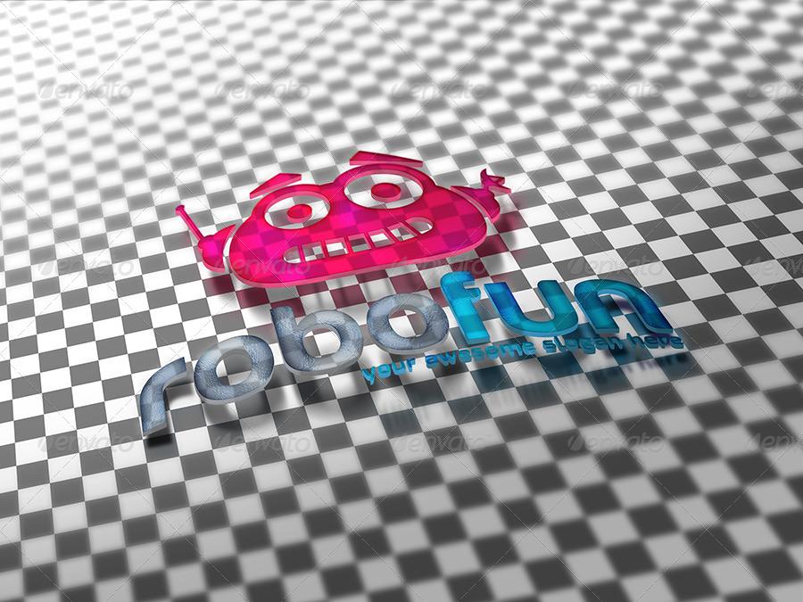 3D & Transparent Logo Mockups