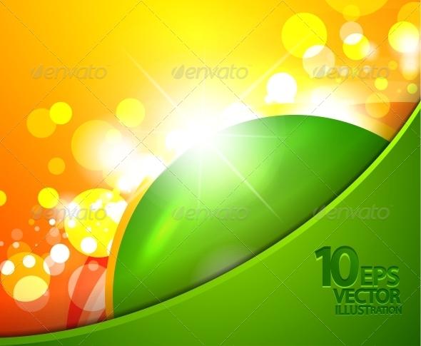 GraphicRiver Hi-Tech Shiny Techno Bubble Background 4098001