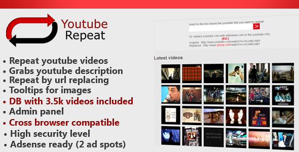 CodeCanyon Youtube Looper Youtube on repeat 4098005