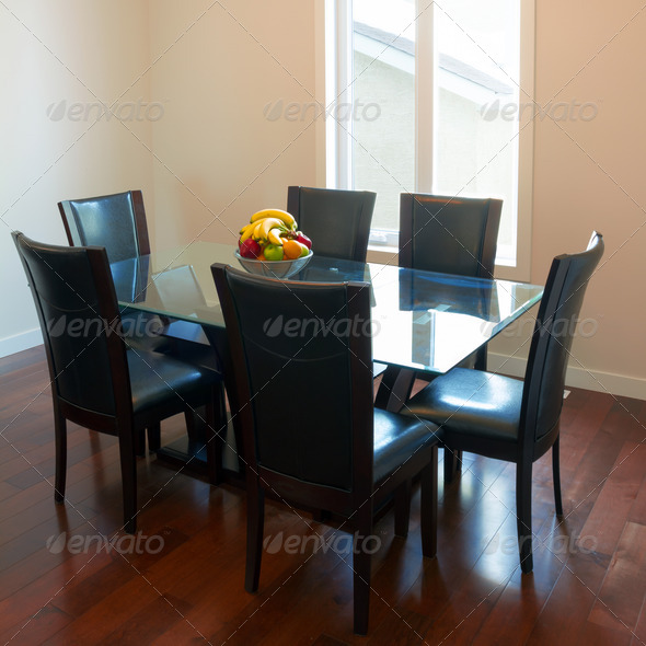 Interior of Dining room - Stock Photo - Images