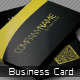 Black & Yellow  QR Business Card - GraphicRiver Item for Sale