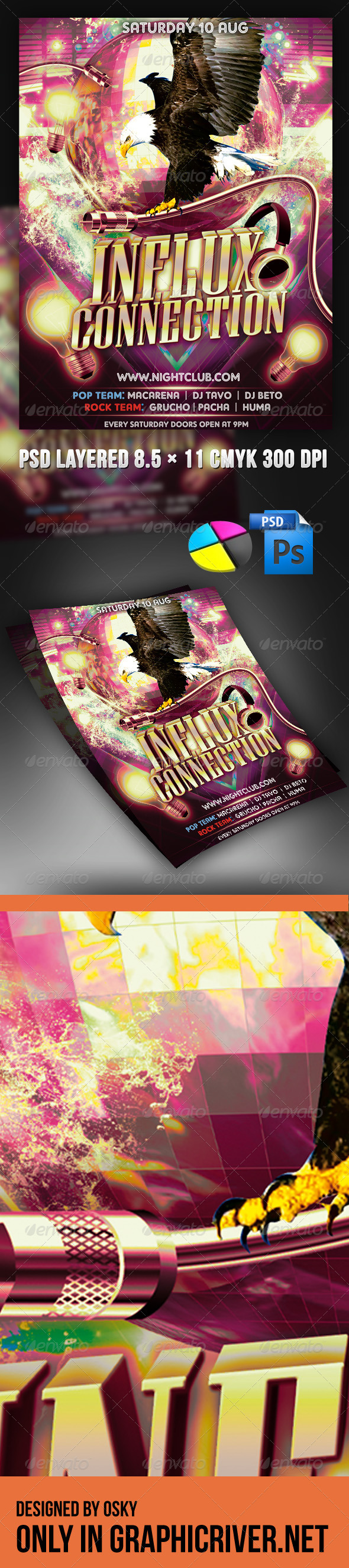 GraphicRiver Influx Connection 4099633