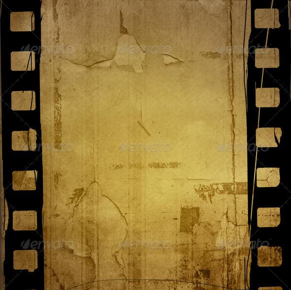 PhotoDune Grunge Film Frame effect 4124634