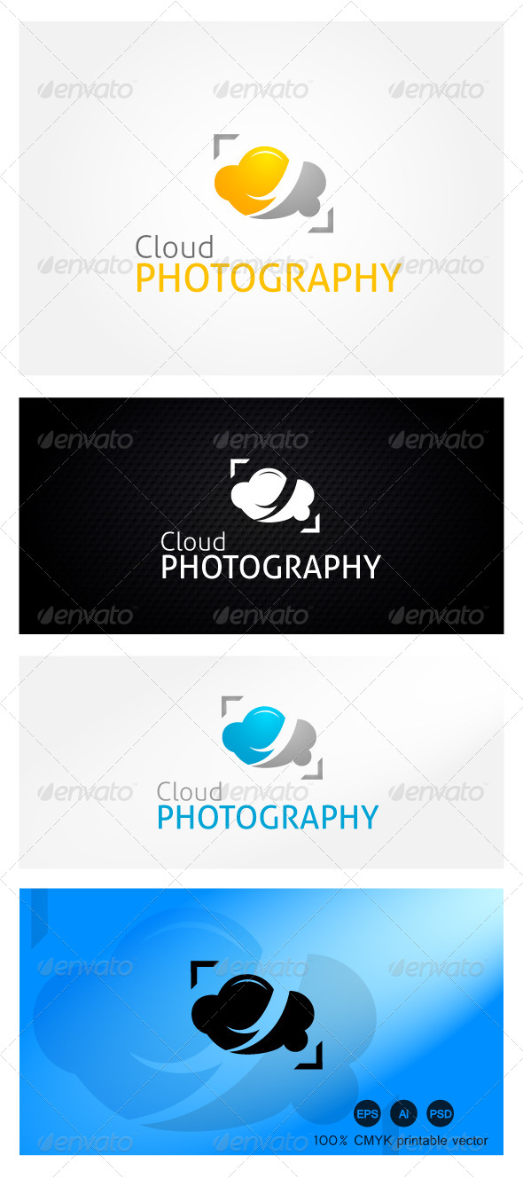 Cloud Photography Logo Templates - Symbols Logo Templates