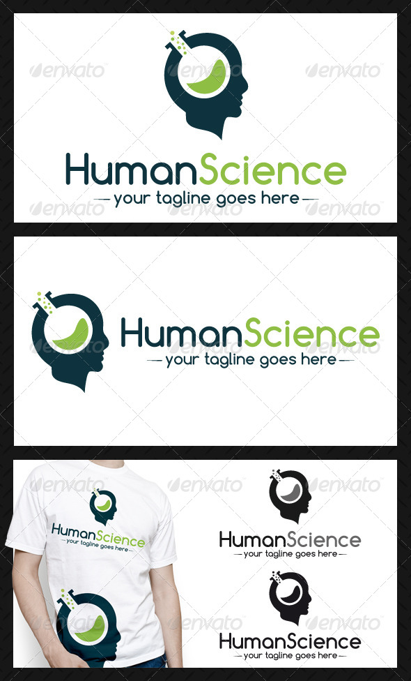 GraphicRiver Human Science Logo Template 4102011