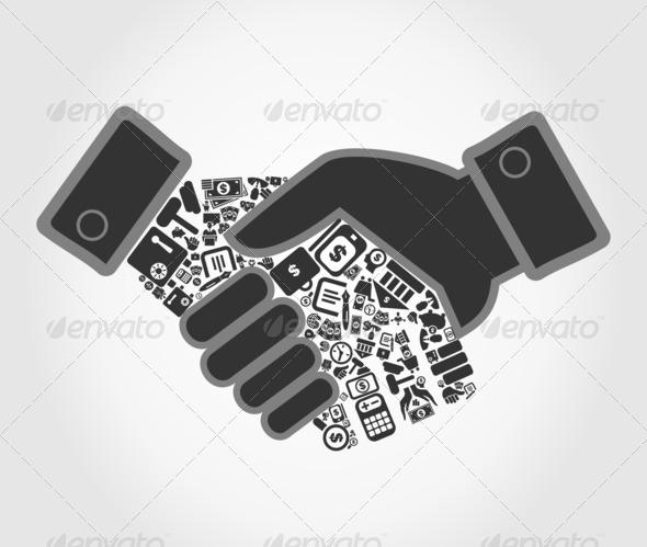 PhotoDune Business hand shake 4102207