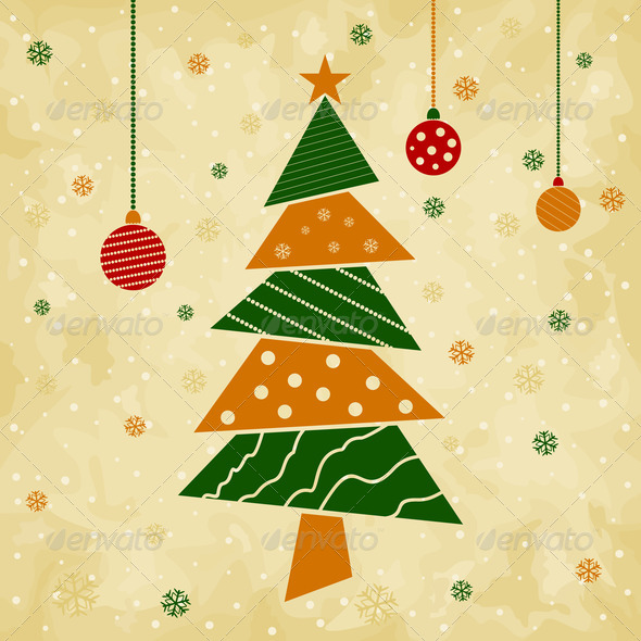 PhotoDune Christmas tree5 4102219