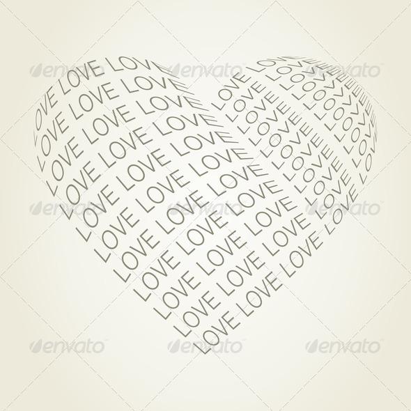 PhotoDune Heart love 4102222