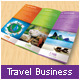 Travel Business Trifold Brochure - GraphicRiver Item for Sale