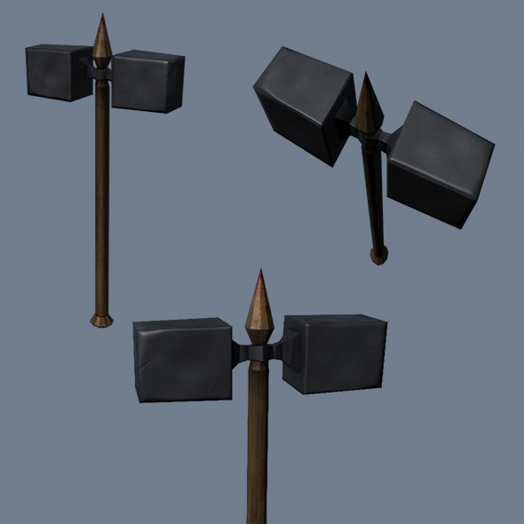 Low Poly Game Model - War Hammer - 3DOcean Item for Sale