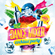 Dance mixer party flyer - GraphicRiver Item for Sale