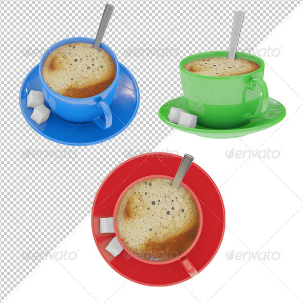 GraphicRiver Coffee Cup 4103017