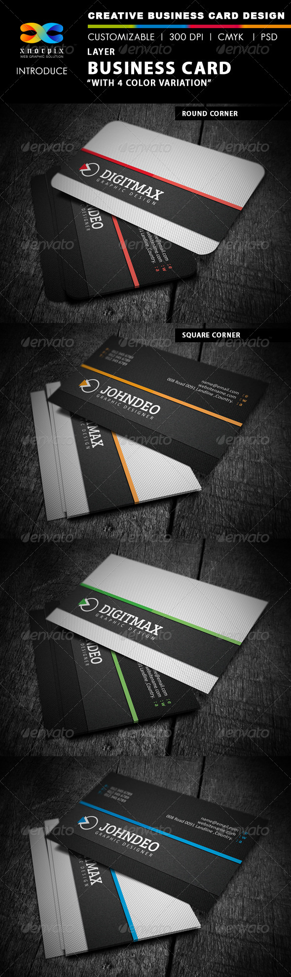 GraphicRiver Layer Business Card 4103042