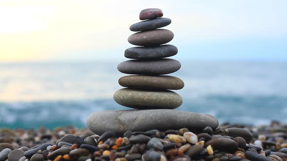 Download Stack of Stones on the Sea nulled download