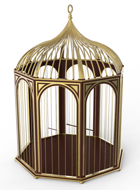 3DOcean Bird Cage 4090981