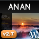 ANAN - For Photography Creative Portfolio - ThemeForest Item for Sale