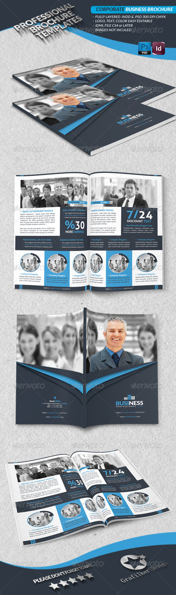 GraphicRiver Corporate Business Brochure 4103203
