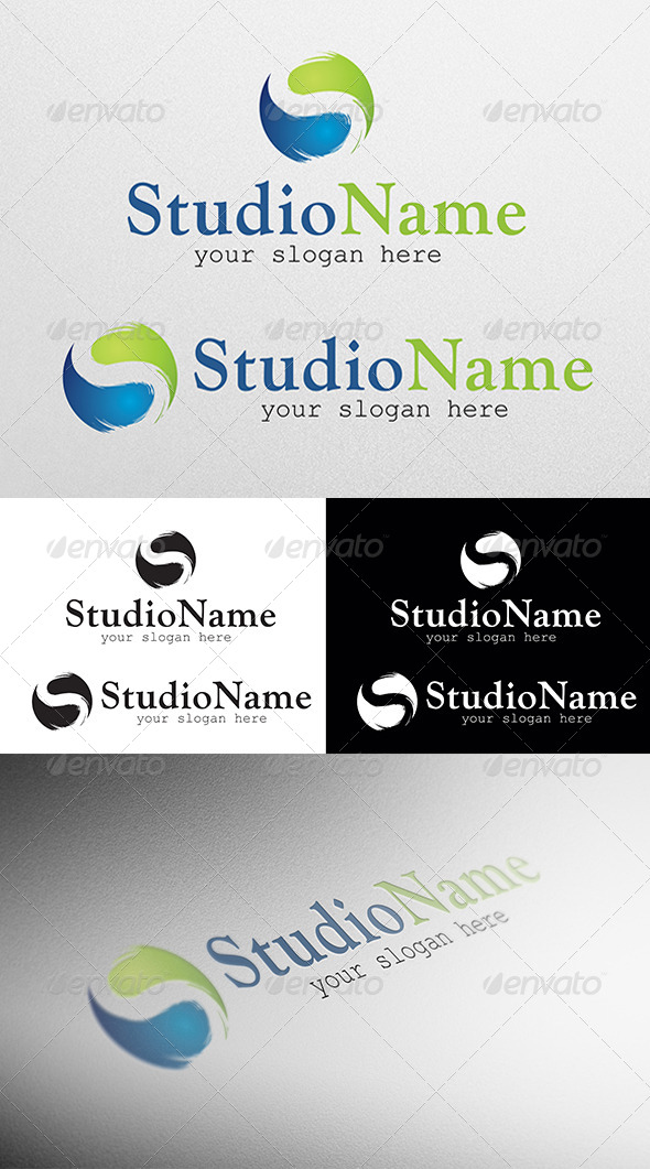 GraphicRiver Studio S logo 4103222