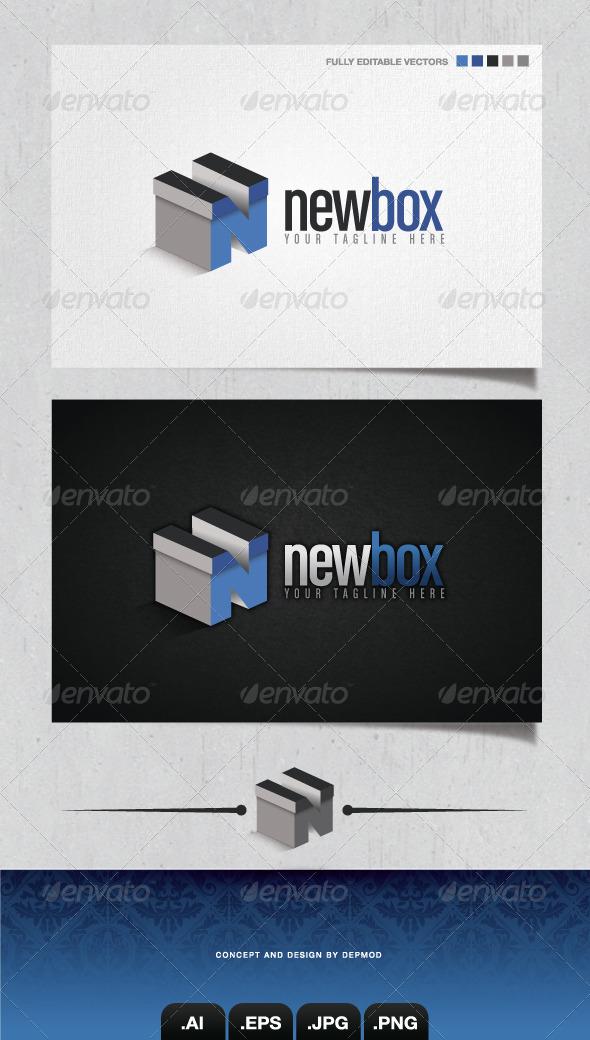GraphicRiver NewBox Logo 4103630