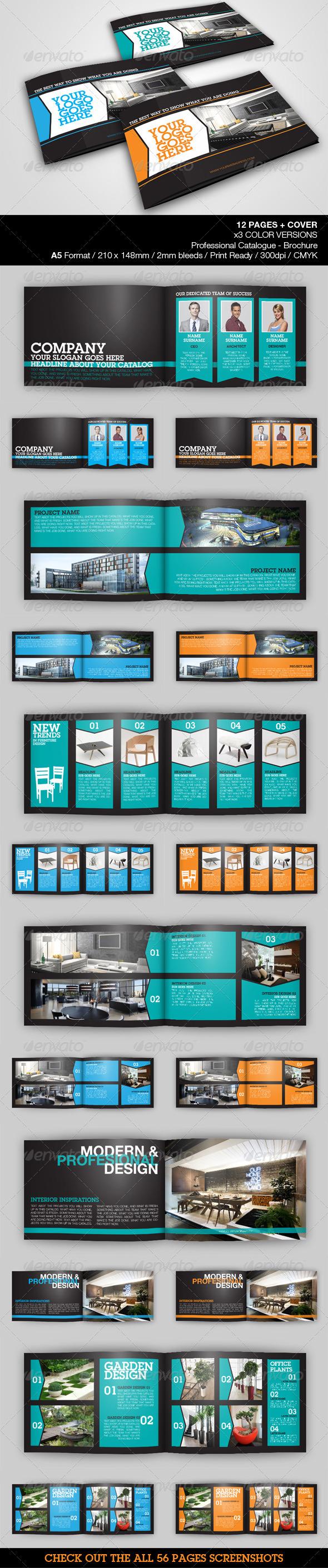 GraphicRiver Architecture & Design A5 Catalog 4103659