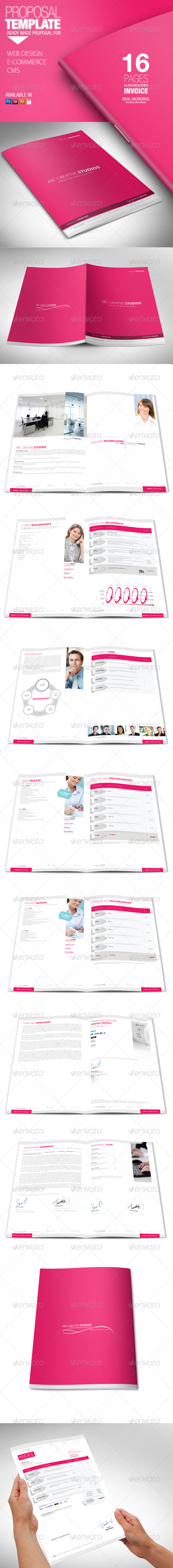 GraphicRiver Proposal Template 4104702