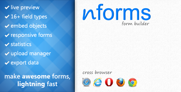 CodeCanyon nForms WordPress Form Builder 4104704