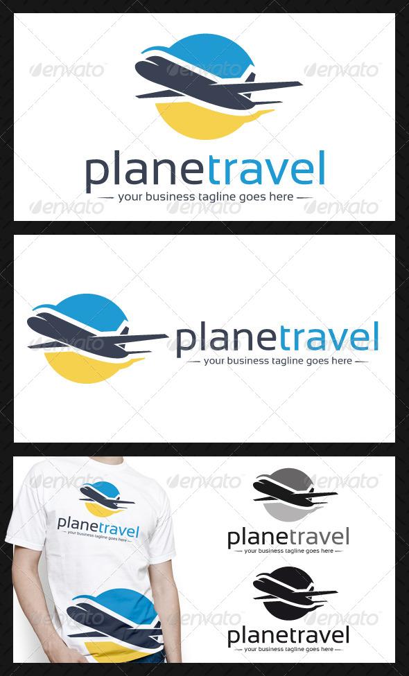 GraphicRiver Plane Travel Logo Template 4104706