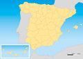 Spain map UTM - PhotoDune Item for Sale