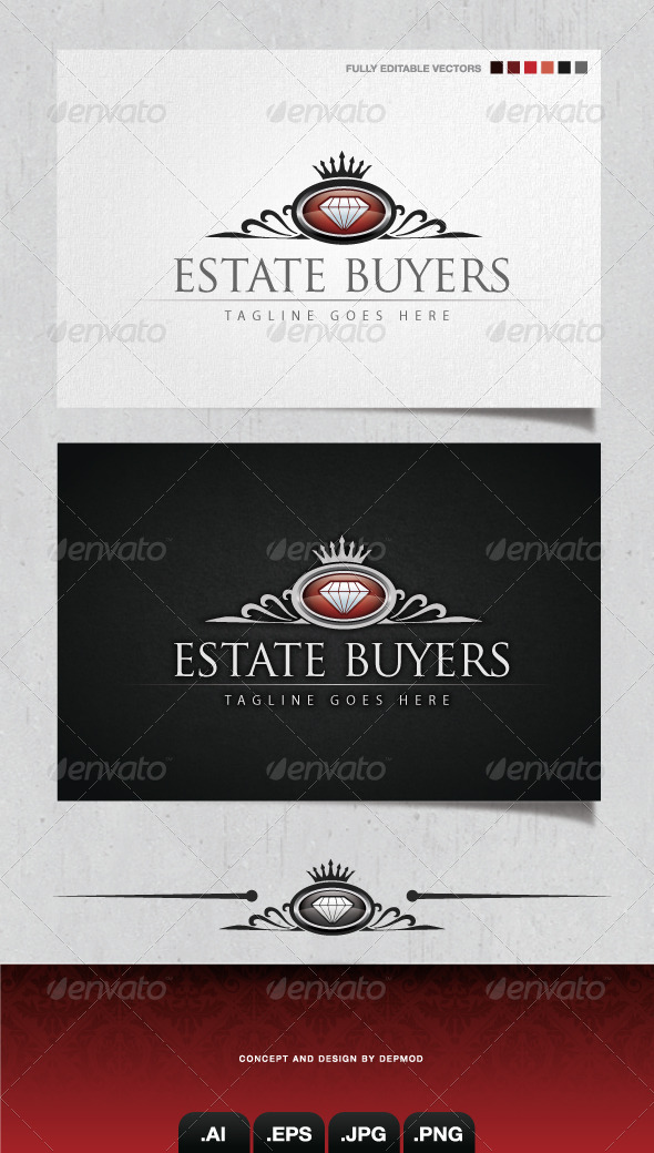 GraphicRiver Estate Buyers Logo 4104775