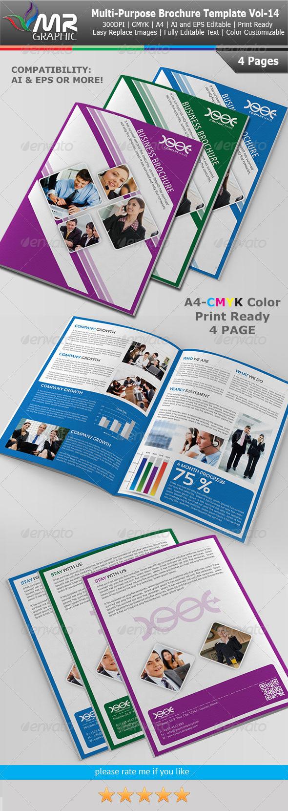 GraphicRiver Multipurpose Business Brochure Vol-14 4104847