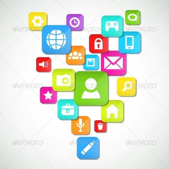 GraphicRiver Social Media Background 4105101