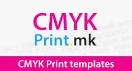 CMYK Print templates