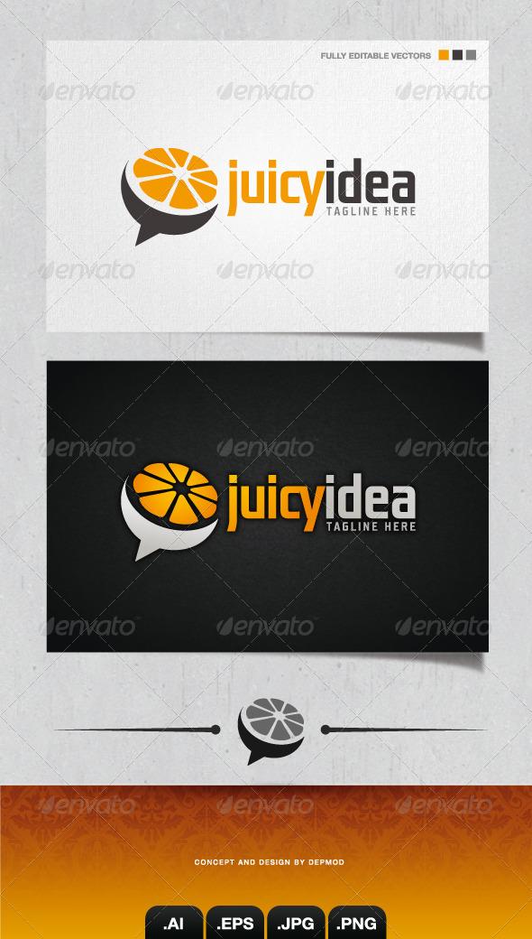 GraphicRiver Juicy Idea Logo 4105473