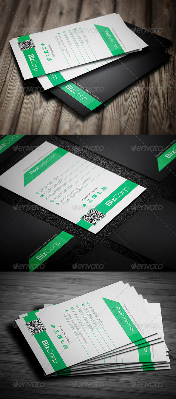GraphicRiver Super Simple Business Card 4105955