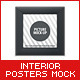 Interior Posters Mock-Up - GraphicRiver Item for Sale