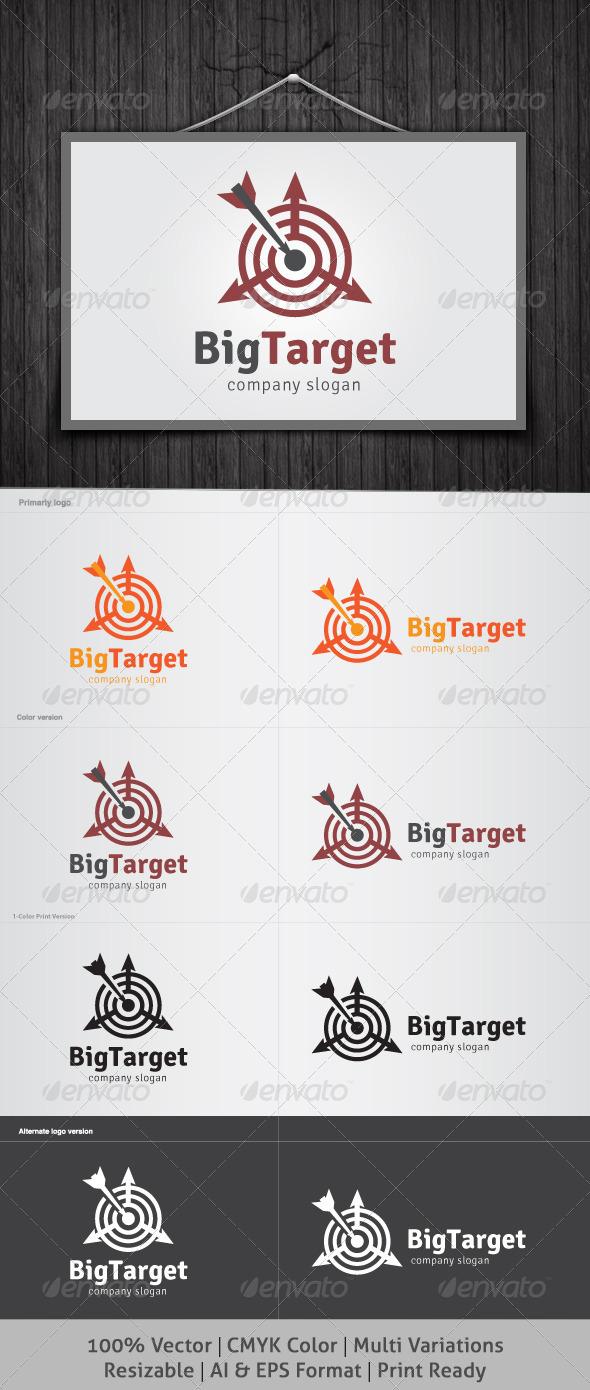 GraphicRiver BigTarget Logo 4106803