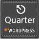 Quarter - Responsive WordPress Blogging Theme - ThemeForest Item for Sale