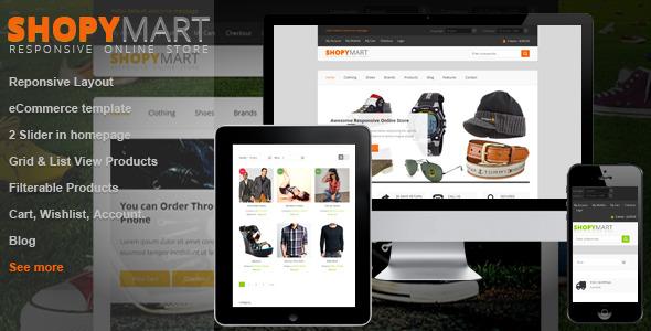 ShopyMart - Responsive html5 ecommerce template -
