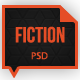 Fiction Psd Template - ThemeForest Item for Sale