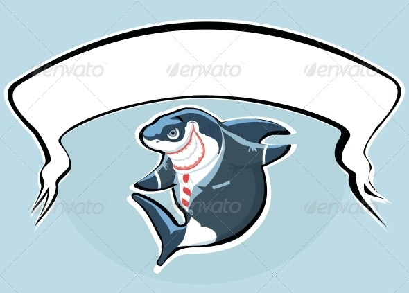 GraphicRiver Smiling Shark 4107751
