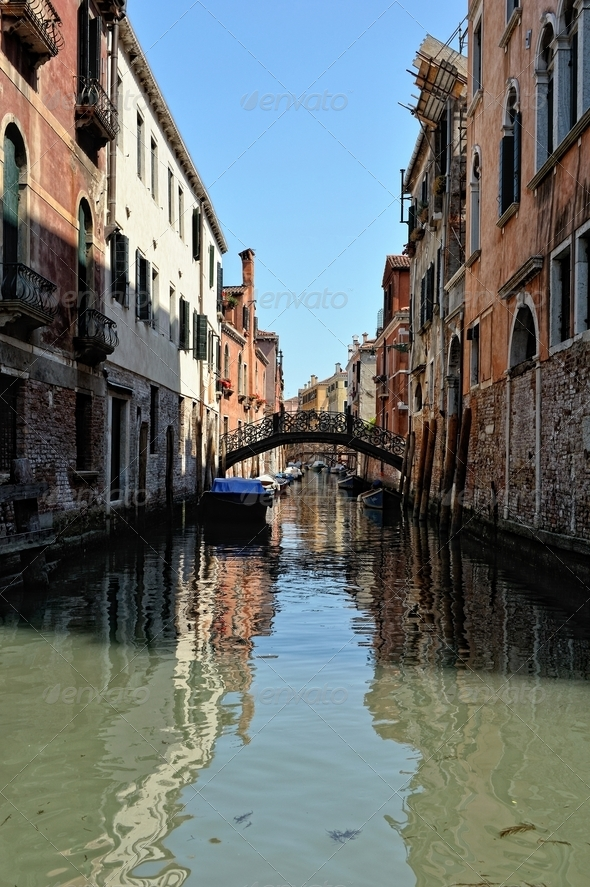 Cityscape of Venice. - Stock Photo - Images
