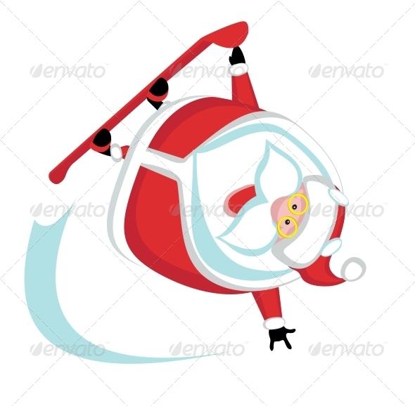 GraphicRiver Extreme Santa 4108205