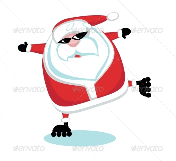 GraphicRiver Extreme Santa 4108206