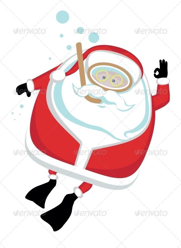 GraphicRiver Extreme Santa 4108207