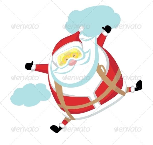 GraphicRiver Extreme Santa 4108208