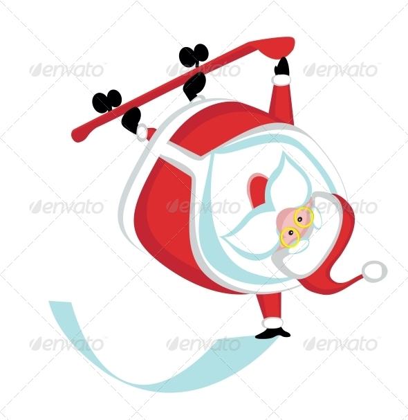 GraphicRiver Extreme Santa 4108210