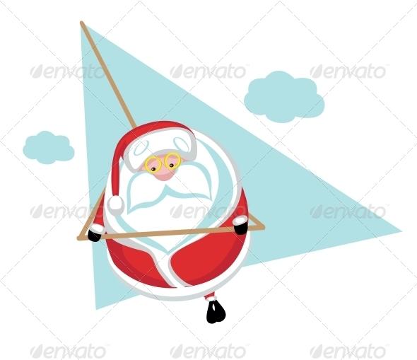GraphicRiver Extreme Santa 4108211