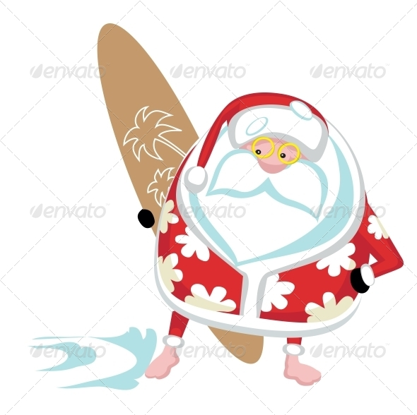 GraphicRiver Extreme Santa 4108212